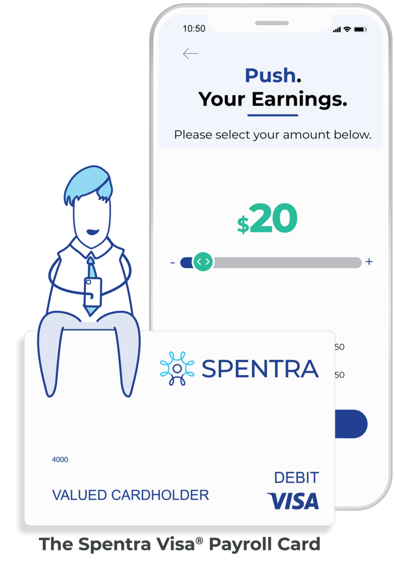 Spentra Visa Payroll Card